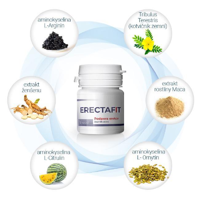 Složení přípravku Erectafit